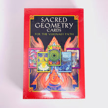 Load image into Gallery viewer, Sacred Geometry Cards for the Visionary Path