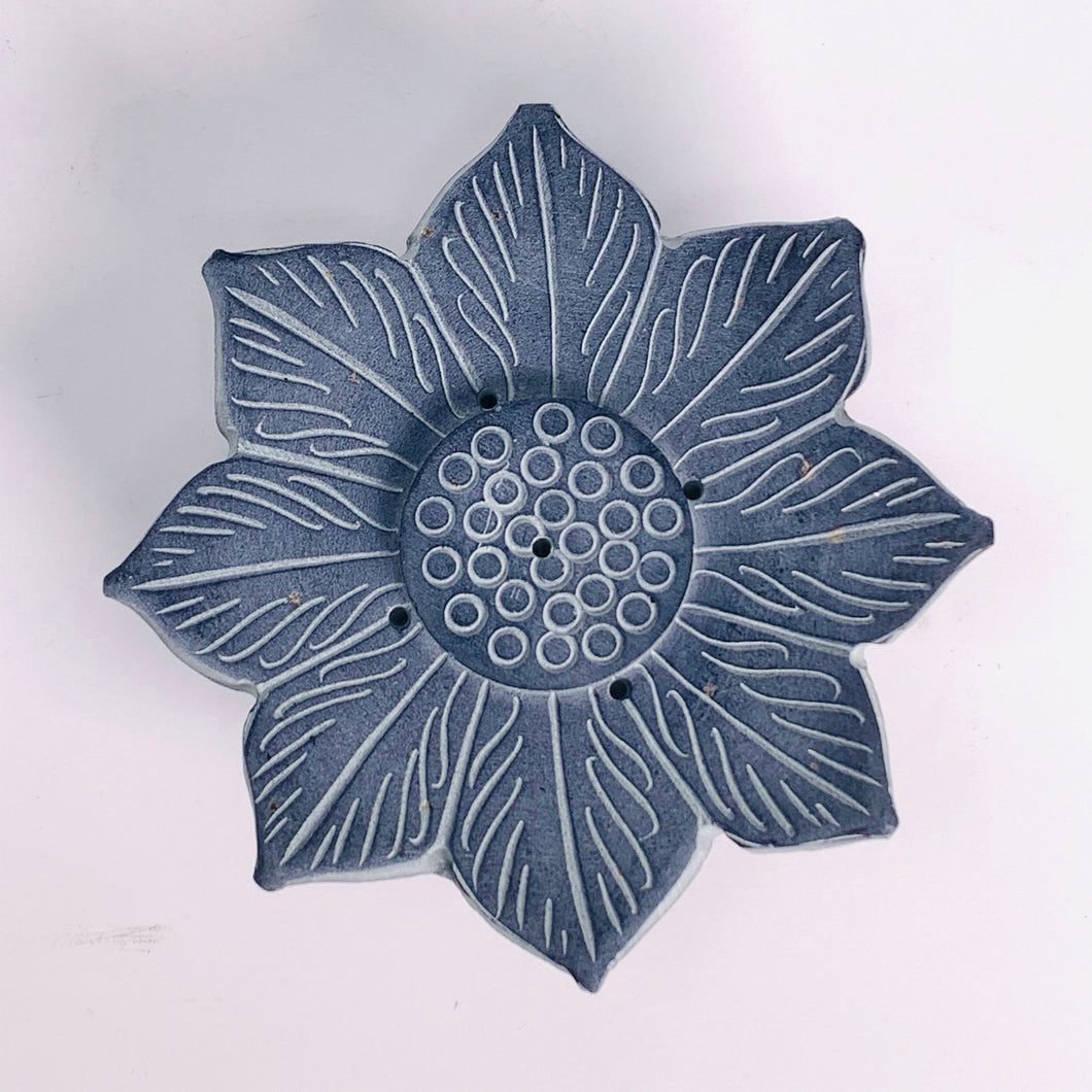 Water Lily Incense Holder