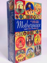 Load image into Gallery viewer, Mini Motherpeace Round Tarot Set