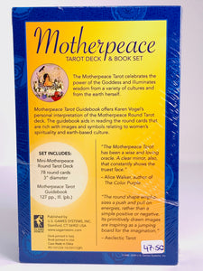 Mini Motherpeace Round Tarot Set