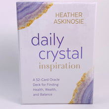 Load image into Gallery viewer, Daily Crystal Inspiration Oracle Deck