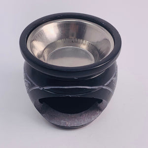 Small Soapstone Resin Burner