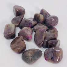 Load image into Gallery viewer, Ruby Moonstone (Dark) - Tumbled