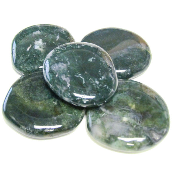 Moss Agate Earth Stone