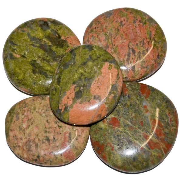 Unakite Earth Stone