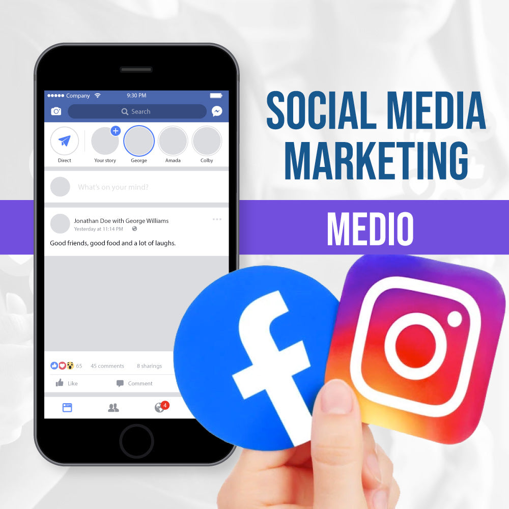 Estrategia Facebook + Instagram (Plan Medio)