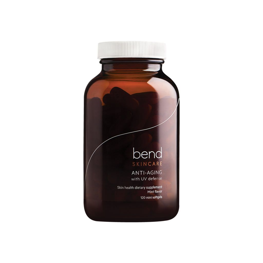 Bend Skincare Anti-Aging Capsules with UV defense
