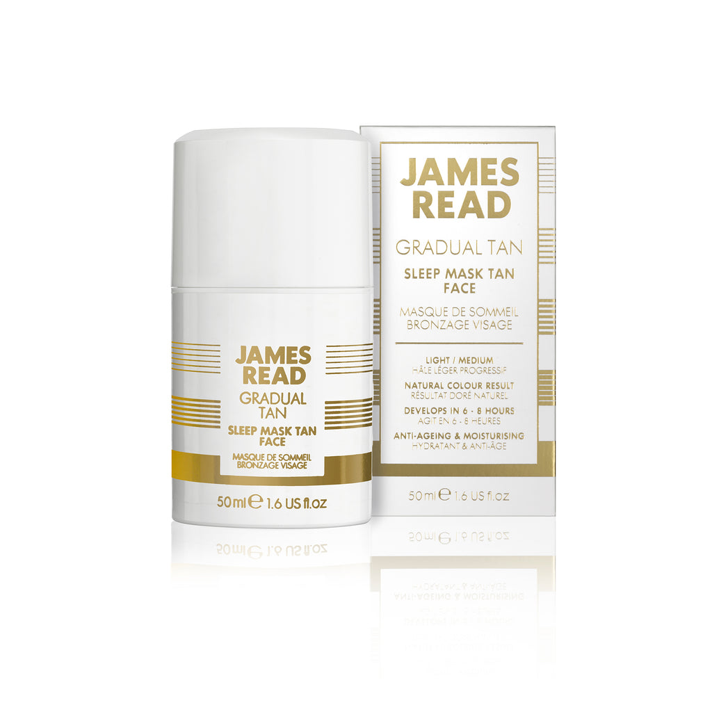 James Read - Gradual Tan - Sleep Mask Tan Face