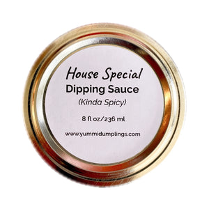 House Special Dipping Sauce - 8 oz. - Yummi Dumplings