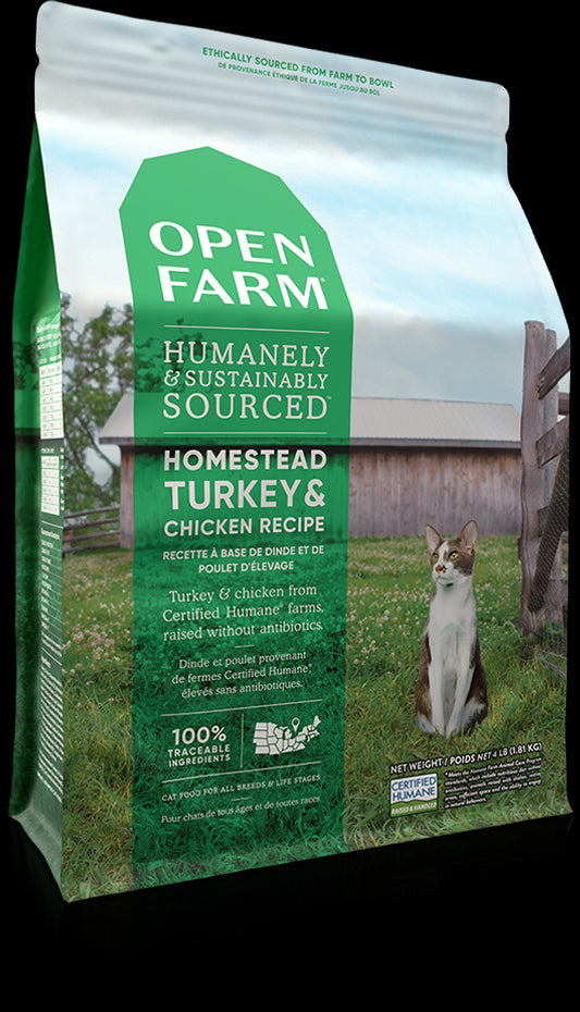 Homestead Turkey & Chicken Cat 1.8 KG