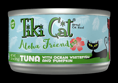 Tiki Cat Cans Aloha Friends 5.5 OZ