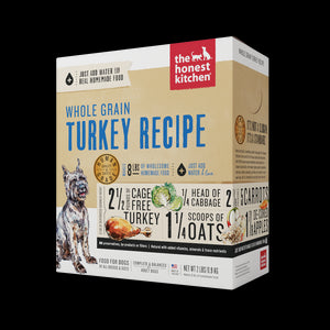 The Honest Kitchen Dehydrated Whole Grain Turkey Dog