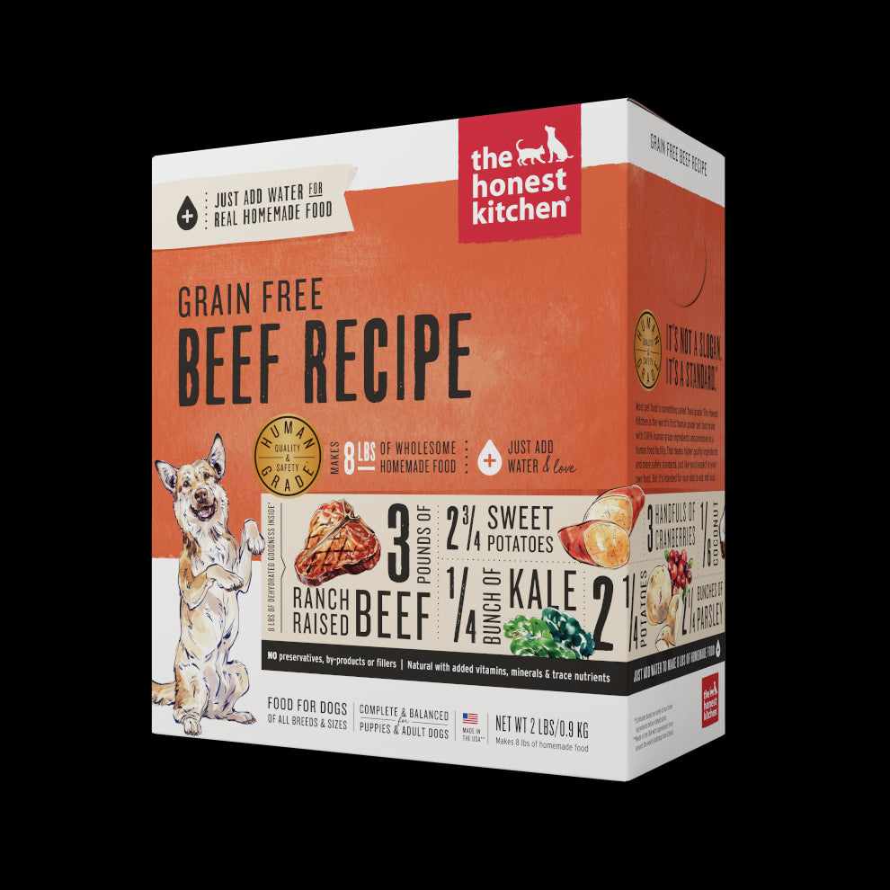The Honest Kitchen Dehydrated Grain Free Beef