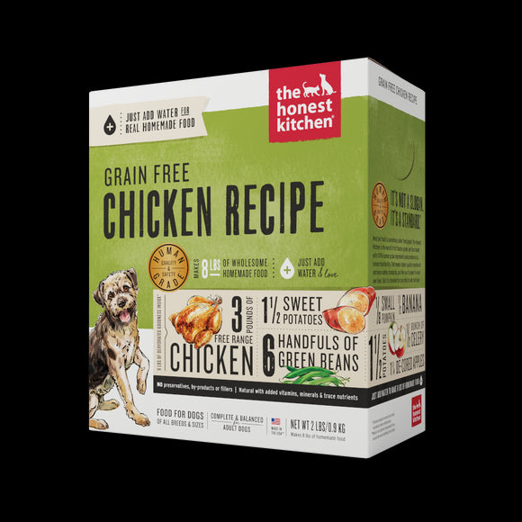 The Honest Kitchen Dehydrated Grain Free Chicken Dog