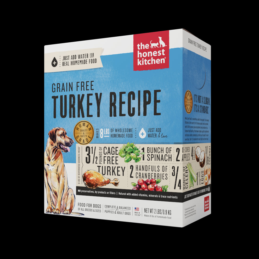 The Honest Kitchen Dehydrated Grain Free Turkey Dog