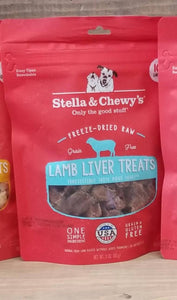 Stella & Chewy Freeze Dried Treats 3 OZ