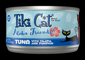 Tiki Cat Cans Aloha Friends 3 OZ (SMALL CAN)
