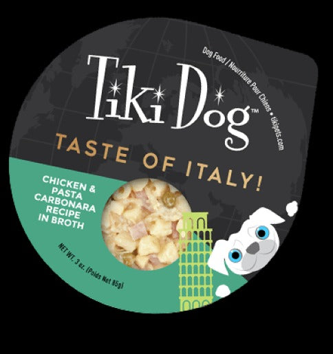 Tiki Dog Taste of the World 3 oz cups