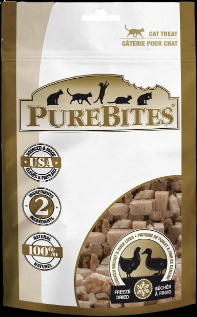 Pure Bites Freeze Dried Cat Treats Chicken & Duck 32G