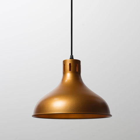 240V Decorative Brass Finish Pendant Light.
