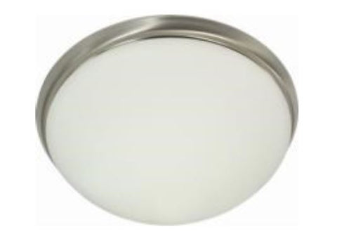 240V Surface Mounted Glass Ceiling Light