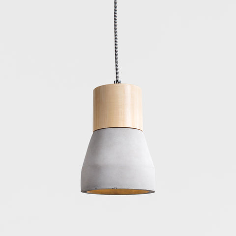 240V Concrete / Timber LED Pendant Light