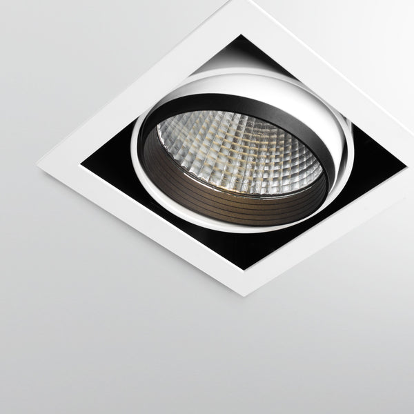Single Adjustable Square High Powered LED Down Light