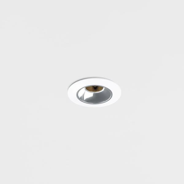 12V Recessed Low Glare LED Down Light.  White Finish.