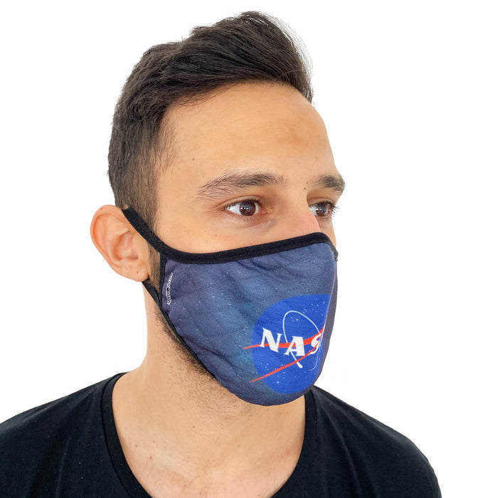 Mascarilla Nasa Logo