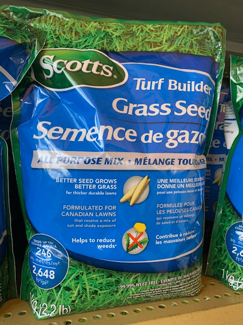 Scotts Turf Builder Grass Seed - All Purpose Mix 1KG/2.2lb bag