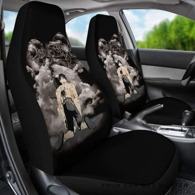 Ace Luffy Brothers One Piece Car Seat Covers Style 2 - Cute Design, Universal Fit