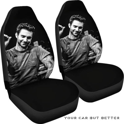 Adam Levine Car Seat Covers - Cute Design, Universal Fit