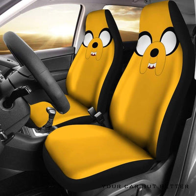 Adventure Time 1 Seat Covers - Cute Design, Universal Fit
