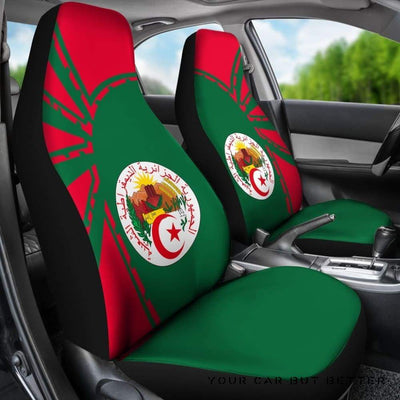 Algeria Car Seat Covers Premium Style Th5 - Cute Design, Universal Fit
