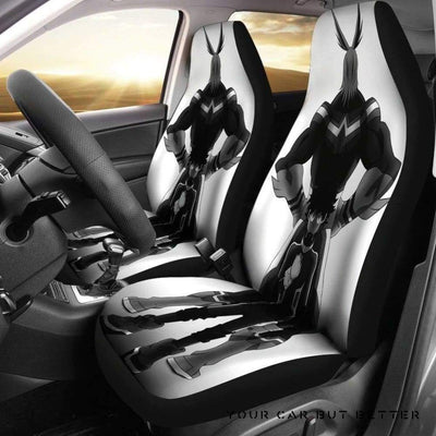 All Might Toshinori Yagi Car Seat Covers - Cute Design, Universal Fit