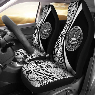American Samoa Car Seat Covers Circle Style 03 J4 - Cute Design, Universal Fit