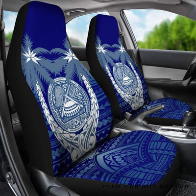 American Samoa Polynesian Coconut Car Seat Covers A02 - Cute Design, Universal Fit