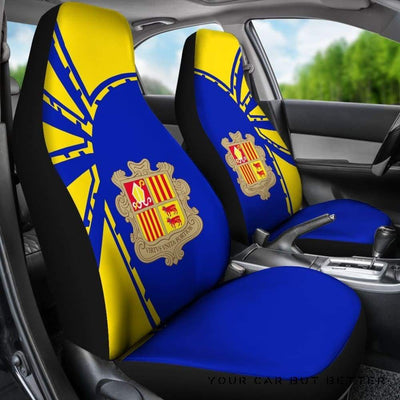 Andorra Car Seat Covers Premium Style Th5 - Cute Design, Universal Fit