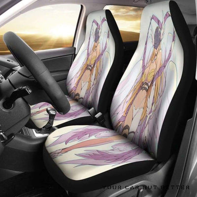 Angewomon Car Seat Covers - Cute Design, Universal Fit