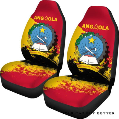 Angola Special Car Seat Covers A7 - Cute Design, Universal Fit