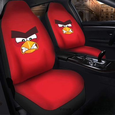 Angry Bird Seat Covers - Cute Design, Universal Fit