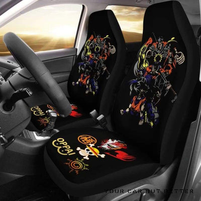 Anime Hero Car Seat Covers Style 2 - Cute Design, Universal Fit