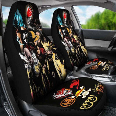 Anime Heroes 2018 Car Seat Covers - Cute Design, Universal Fit