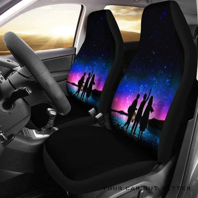 Attack On Titan Car Seat Covers - Cute Design, Universal Fit