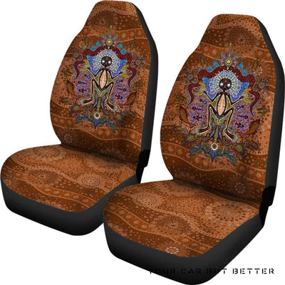 Australia Car Seat Covers Australian Shaman Bn15 - Cute Design, Universal Fit