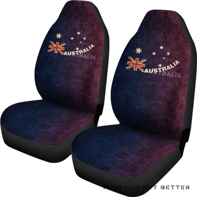 Australia Car Seat Covers Australia Legend Bn15 - Cute Design, Universal Fit