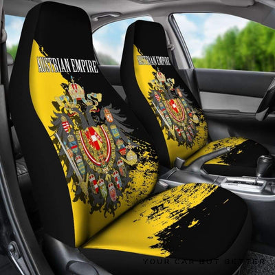 Austrian Empire Special Car Seat Covers A02 - Cute Design, Universal Fit