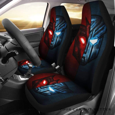 Autobots Vs Decepticons 1 Seat Cover - Cute Design, Universal Fit