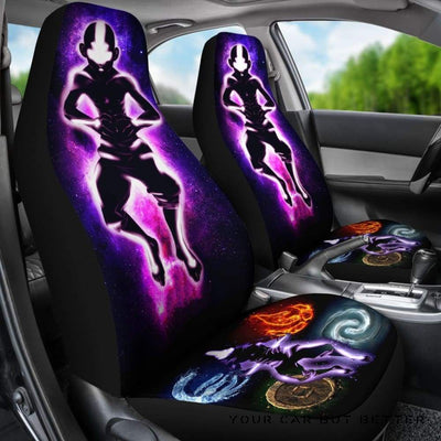 Avarta The Last Airbender Seat Covers - Cute Design, Universal Fit