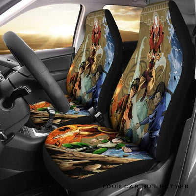Avatar: The Last Airbender Car Seat Covers - Cute Design, Universal Fit